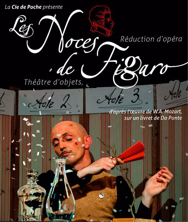 noces de figaro flyer